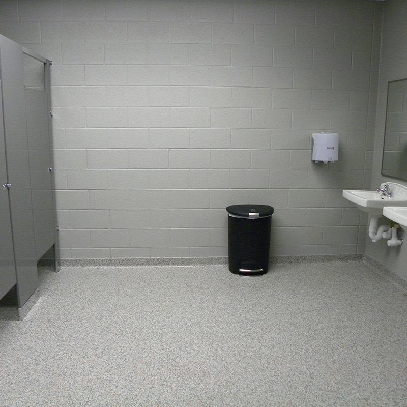 Easy To Clean Bathroom Flooring with Cove Grand Rapids