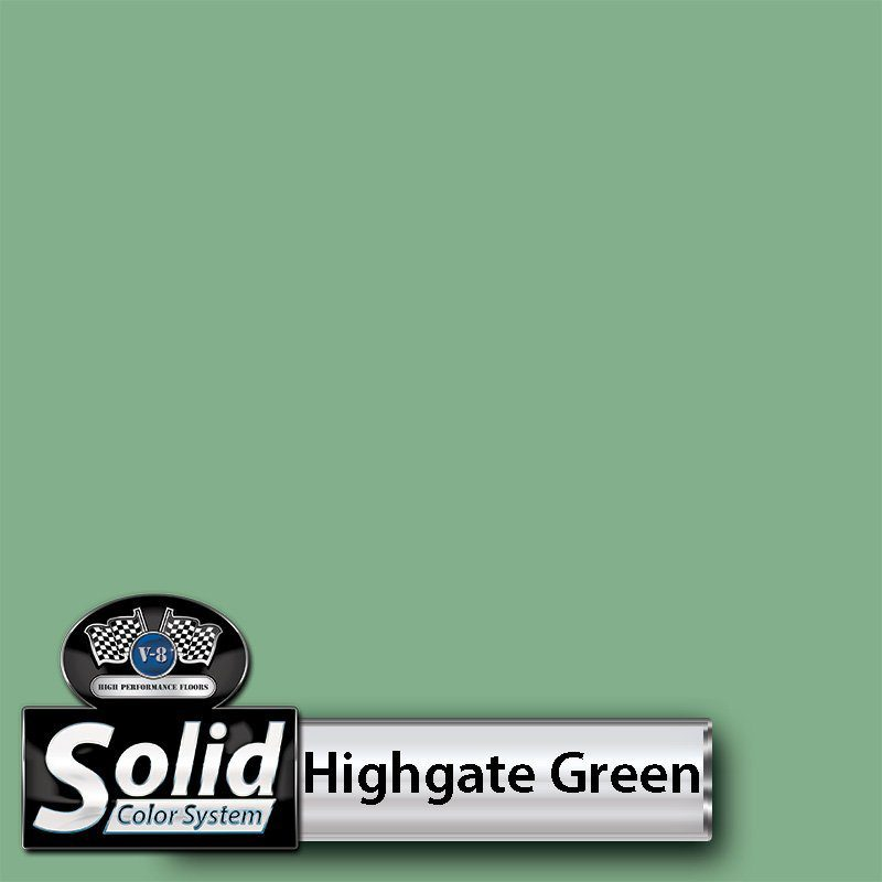 Highgate Green Solid Color Resin Pigment