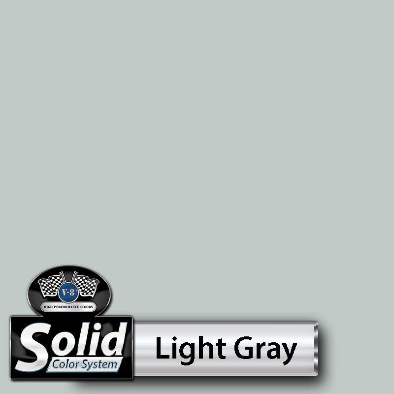 Light Gray Solid Color Resin Pigment