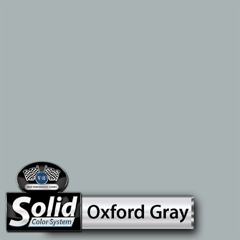 Oxford Gray Solid Color Resin Pigment