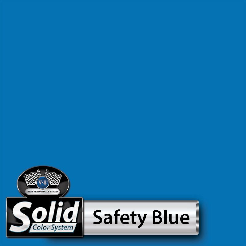 Safety Blue Solid Color Resin Pigment