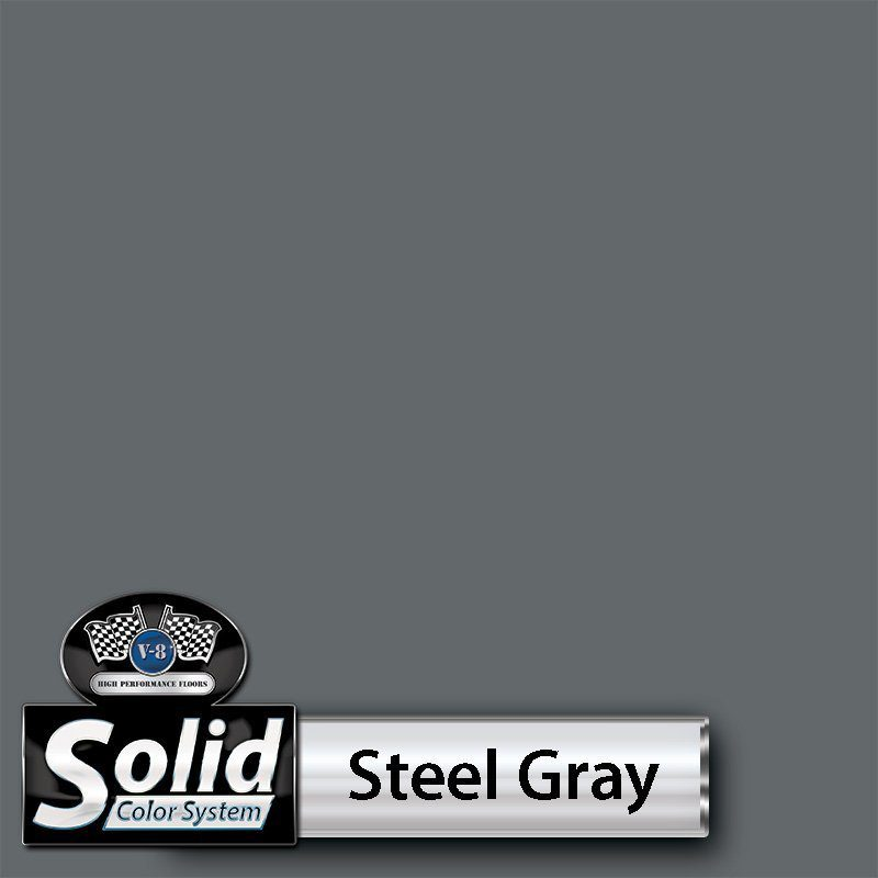 Steel Gray Solid Color Resin Pigment