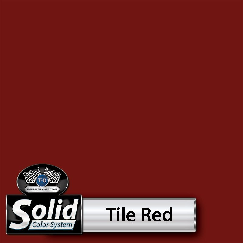 Tile Red Solid Color Resin Pigment