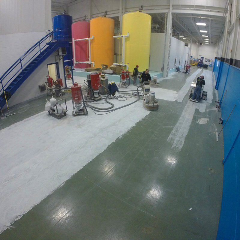 West Michigan Coating Removal, Diamond Grinding, and Shotblasting