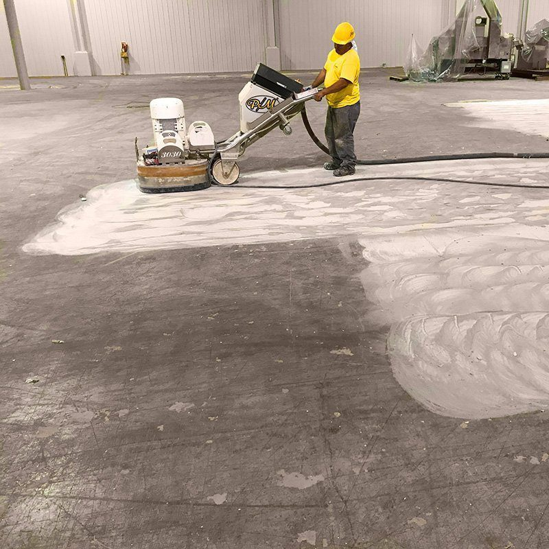 West Michigan Coating Removal - Diamond Grinding