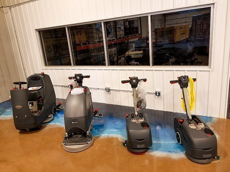 Grand Rapids Scrubber Sales and Demos