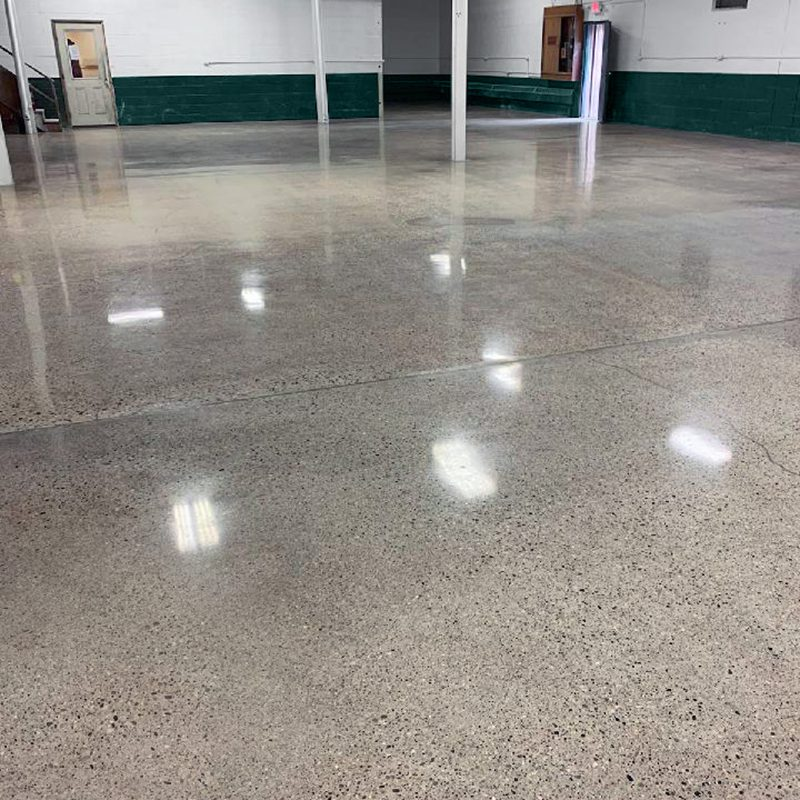 Polished Concrete in White Hall
